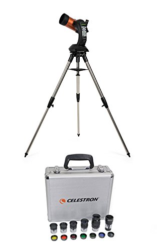Celestron Nexstar 4SE Maksutov-Cassegrain Telescope & 1.25-Inch Eyepiece/Filt... by Celestron
