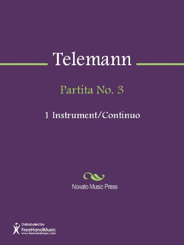 Partita No. 3 - Bass