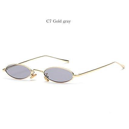 Gafas de sol ovaladas para mujer, diseño retro, gafas de sol ...