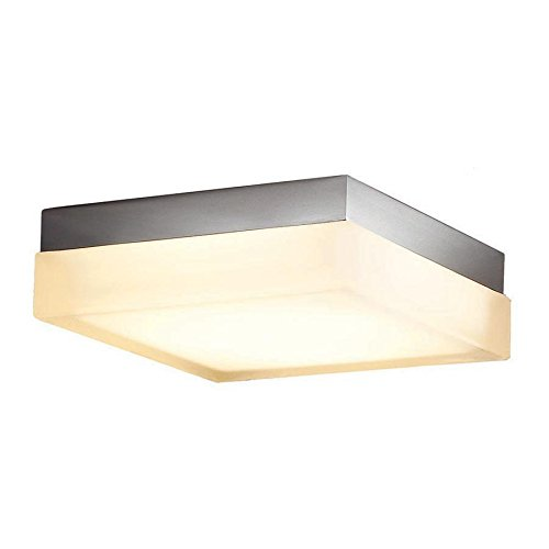 WAC Lighting FM-4006-27-BN 6in Square Warm White