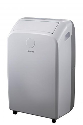 Hisense 10,000 BTU Portable Air Conditioner with remote for room size 300 ft². (Renewed)