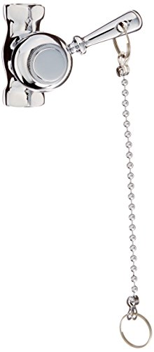 Self-Closing Heavy Duty Shower Valve with Pull Chain, Chrome by Jones Stephens