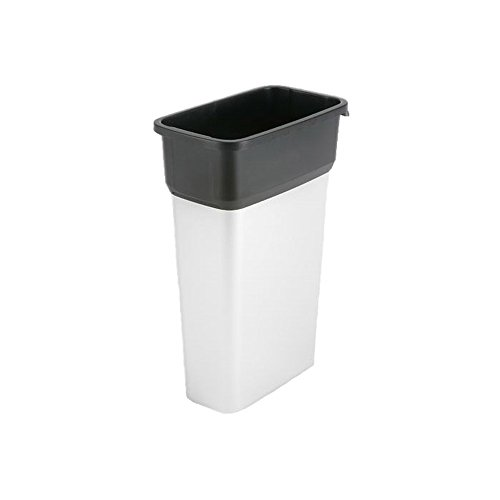 Vileda Professional 137661 GEO Metallic Trash Can Large 70L (case of 4) by Vileda Professional