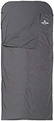 TETON Sports Sleeping Bag Liner; A Clean Sheet Set Anywhere You Go; Perfect for Travel, Camping, and Anytime Y