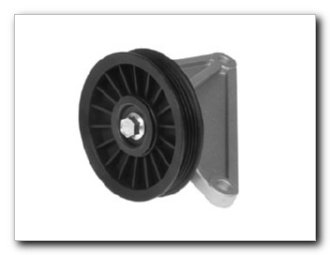 (Motormite A/C Compressor Bypass Pulley for 2002-00 Chevrolet/GMC Trucks (34192))