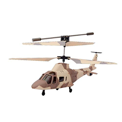 Flying Mini Remote Control Helicopter Aircraft,Flashing Light Toys for Kid Gift by PSFS (As Shown)