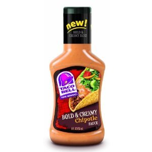 Taco Bell Chipotle Sauce, Bold & Creamy, 8 fz (Pack of 9)