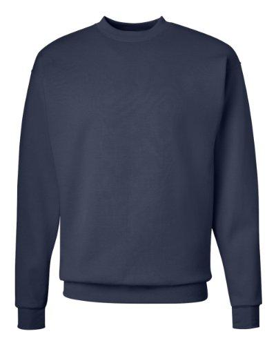 Hanes Comfortblend Crew Sweatshirt, 2XL-Deep Navy