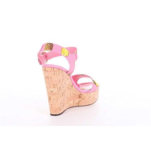 Dolce CZ0136AG418 Sandalias Rosa Gabbana Mujer qq7wax8Z