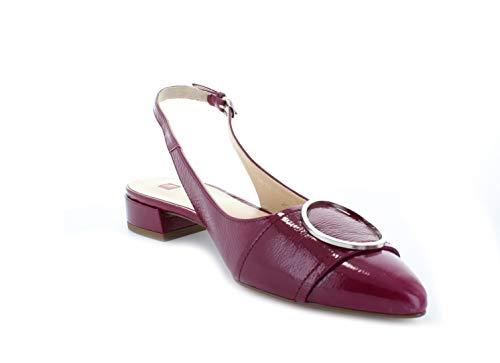 4200 Rojo Glossy Mujer Bailarinas fuchsia Högl Para 4IwxYdw0