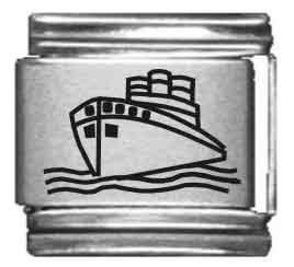 Cruise Ship Laser Italian...