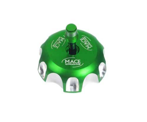 (GREEN CNC BILLET FUEL GAS CAP For KAWASAKI KX450F KX250F KFX 450R KX250 KLX450R)