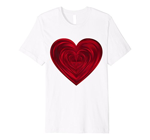Red Heart Shirt - Big Red Heart T Shirt Classic Valentine's Day Women Men Kids