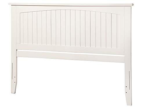 Atlantic Furniture AR282852 Nantucket Headboard, King, White Atlantic King Size Headboard