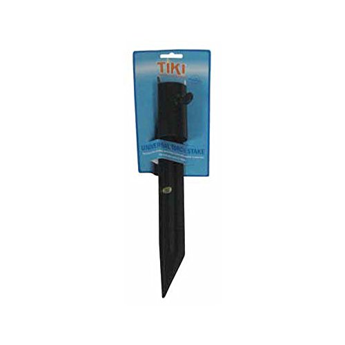 Tiki Torch Stake Black