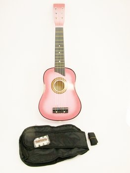 UPC 818107013546, Crescent MG25-PKM Kids Acoustic Toy Guitar 25-Inch, Pink Color