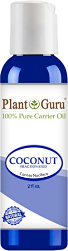 Fractionated Coconut Oil 2 oz. Base Carrier for Aromatherapy