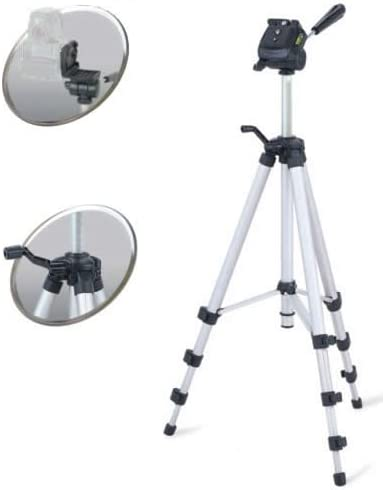 DynaSun WT363 Tripod and WT1003 171cm Monopod Professional Camera Tripod Lightweight Stand Kit with 3 Way Head System and Carry Case