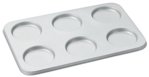 Cuisinart AMB-6MTP Chef's Classic Nonstick 6-Cup Muffin-Top Pan, - Pan Classic Bakeware Muffin