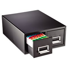* Drawer Card Cabinet Holds 3,000 4 x 6 cards, 14 1/2 x 16 x 6 1/4