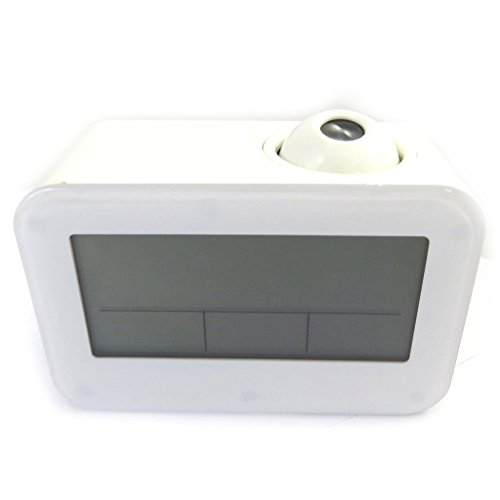 Radio despertador proyector Coloriageblanco.: Amazon.es: Hogar