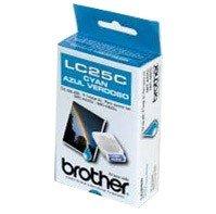 Cyan Brother Inkjet Lc25c (Brother Model LC25C Cyan Ink Cartridge)