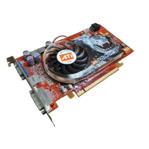 DELL - Dell ATi Radeon X800 PCI-e 256MB DVI-VGA-TV Card K3856 XT 109-A31900-00 - (256 Mb Pcie Tv)