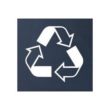 Amazon Recycle Symbol Car Truck Notebook Vinyl Decal