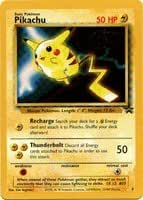 Pokemon Card - Black Star Promo #4 - PIKACHU