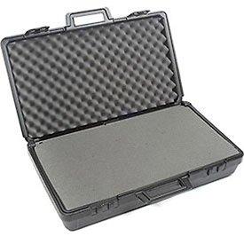 [해외]핀치 눈물 방울이있는 검은 색 플라스틱 보호용 보관 상자 27-1 2 x16 x7/Black Plastic Protective Storage Cases with Pinch Tear Foam 27-1 2 x16 x7