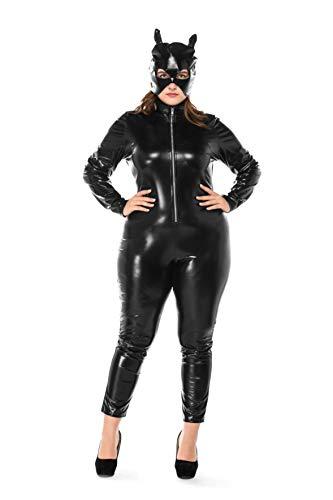 KeepMoving Halloween Costumes Women's Batman The Dark Knight Rises Catwoman Adult Costume (XX-Large) -