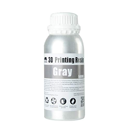 Wanhao 3D-Printer UV Resin - 500 ml - Grey