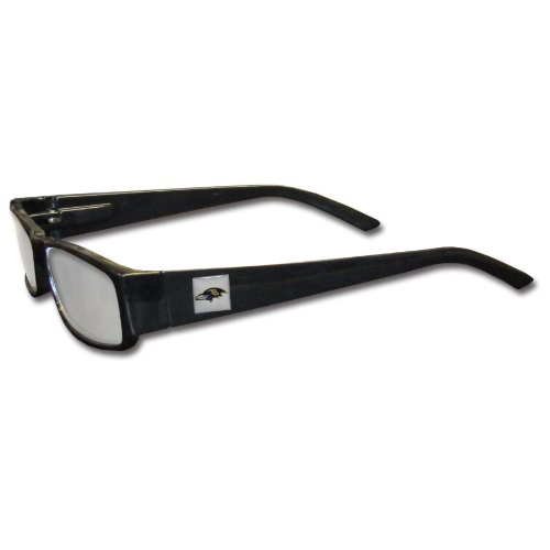 NFL Black Reading Glasses (+1.50, Baltimore - Baltimore Glasses