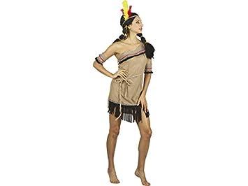 DISONIL Disfraz India Mujer Talla S: Amazon.es: Juguetes y juegos