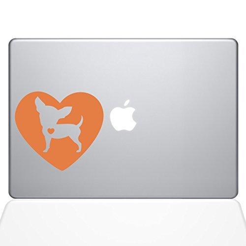 【高い素材】 The Decal Guru Heart Chihuahua Chihuahua Macbook [並行輸入品] Decal Vinyl Sticker Guru - 15 Macbook Pro (2016 & newer) - Orange (1321-MAC-15X-P) [並行輸入品] B0788F9K6B, 窓shop マルフ:e2546c6f --- svecha37.ru