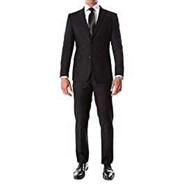 Ferrecci Mens 2 Piece Slim Fit Suit