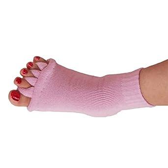 Lizes Calcetines de yoga de punta abierta para hombres con ...