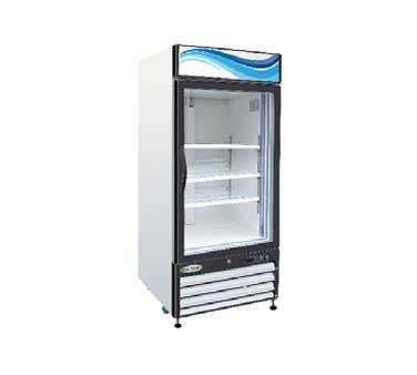 Serv-Ware Glass Door Reach-In Refrigerator GR-16