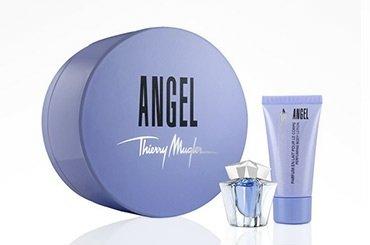 Angel Thierry Mugler Perfume Mini Set in Hat Box