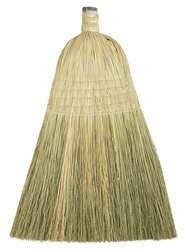 Tough Guy 6PVY2 Household Broom Head, Natural, 13 In