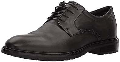 ECCO Men's Vitrus I Tie Oxford, Black Plain Toe, 39 M EU (5-5.5 US)