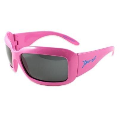 Baby Banz Junior Banz Polarized Sunglasses in Flamingo - Case Baby Sunglasses Banz