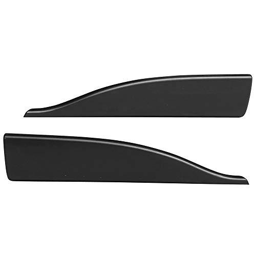 2dr Air Integra Acura - Side Skirts Fits Universal Vehicles | V2 Style Black PP Sideskirt Rocker Moulding Air Dam Chin Diffuser Bumper Lip Splitter by IKON MOTORSPORTS