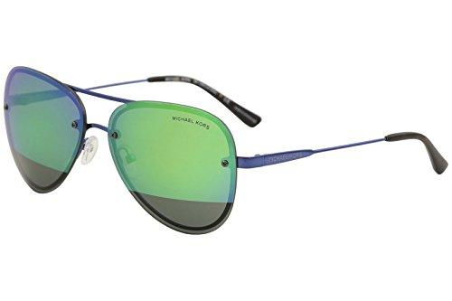Michael Kors sunglasses (MK-1026 1173F2) Metalic Blue - Grey with Green mirror effect - Michael Sunglasses Kors Green