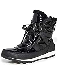 Women's Whitney Short Lace Patent Boots