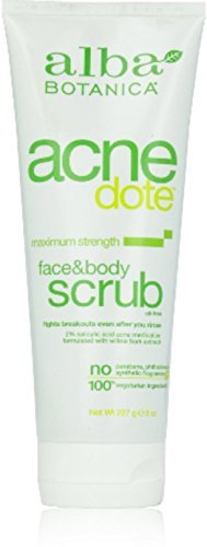 Alba Botanica Natural Acnedote Face & Body Scrub - 6