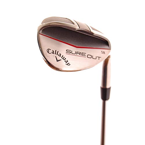 """Callaway Golf """"Sure Out"""" Sand Wedge 58º Steel Shaft - NEW"""