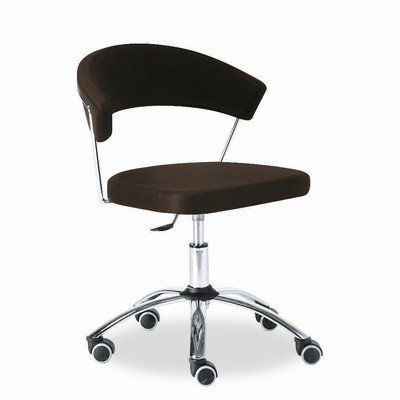 High-Back Office Chair Seat Color: Gummy - Chair Metal Calligaris