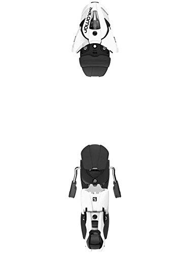 Salomon Z12 Ski Bindings - 90 REG - White/Black