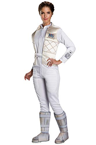 Rubie's Women's Standard Star Wars Classic Princess Leia (Hoth), as as Shown Large -